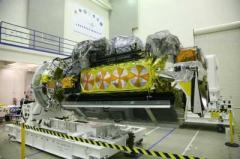 The latest NOAA-N Prime satellite which carries instruments for imaging and measuring the Earth's atmosphere, its surface and cloud cover, including Earth radiation, atmospheric ozone, aerosol distribution, sea surface temperature, and vertical temperature and water profiles in the troposphere and stratosphere. Credit: Lockheed Martin Space Systems