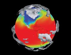 Scientists use models like the Community Climate System Model (CCSM, shown here) to increase their understanding of the world's climate patterns and learn how they may affect regions around the globe. Credit: PNNL