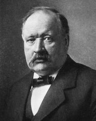 Svante Arrhenius, who won the Nobel Prize for chemistry, and also was the first to show that while water plays the largest role in the greenhouse effect, the smaller but forcing effect from CO2 can be important. Image via Wikimedia Commons, PD-US