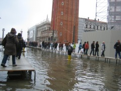 Planners looking to prepare for floods, like this one in Venice, Italy, would like better local information on climate change - and now David Stainforth and his colleagues are helping deliver it. Image credit: www.WorldIslandInfo.com, Allison Lince-Bentley, via Flickr Creative Commons license.