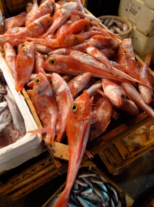 Warm water Red Mullet catches in the UK have increased as sea temperatures have warmed, which William Cheung has linked to global warming. Credit: Nate Gray: A Culinary (Photo) Journal via Flickr Creative Commons License